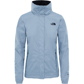 The North Face Resolve 2 Veste Femme, mid grey/tnf black